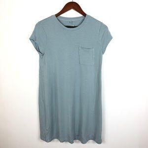 Lou & Grey Blue Pocket Shirt Dress